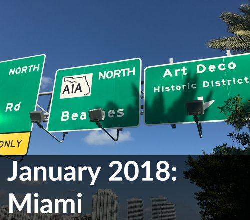 January 2018 Miami