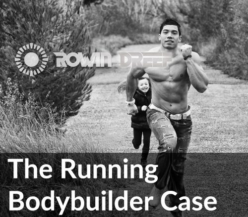 running bodybuilder