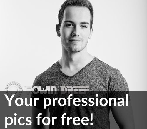Your professional pics for free