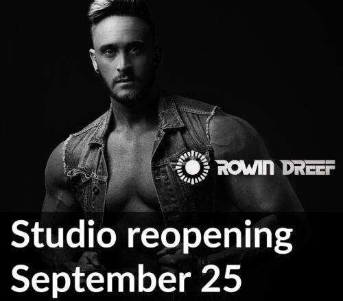 Studio reopening